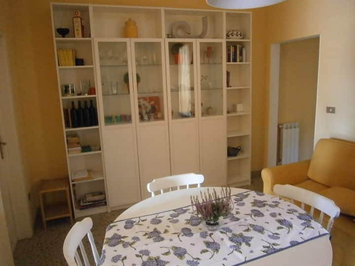 Lively flat 50mq 10min from the sea