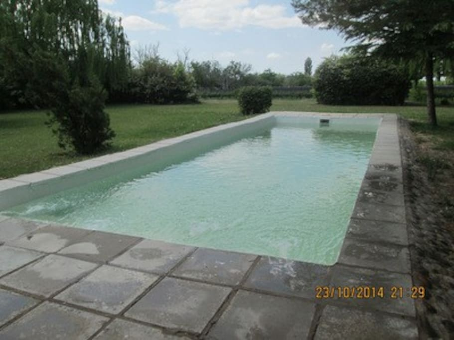 Refreshing pool, for all guests