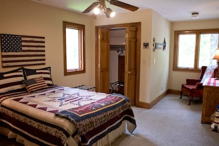 "The Manor at Becks Lake- ""Americana"" Room"