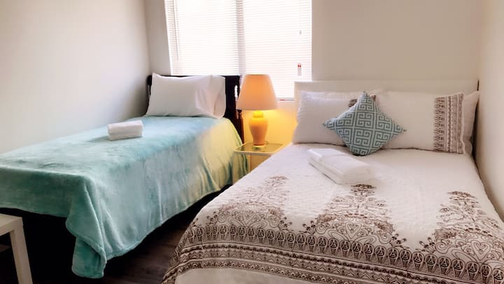 Cozy room in San Gabriel (希爾頓酒店旁)