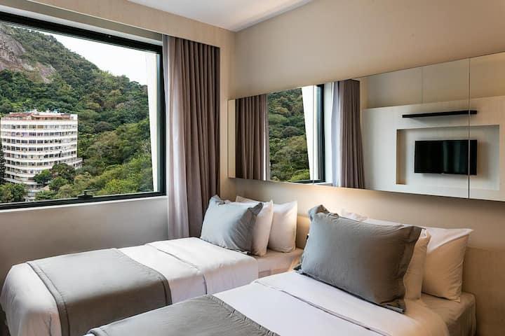 Suíte de hotel em Copacabana para até 02 pessoas
