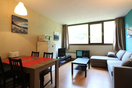 Studio with alcove 4 people well furnished