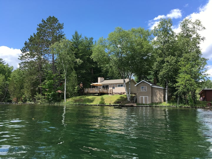 Water Front Cabin on West Bass Lake