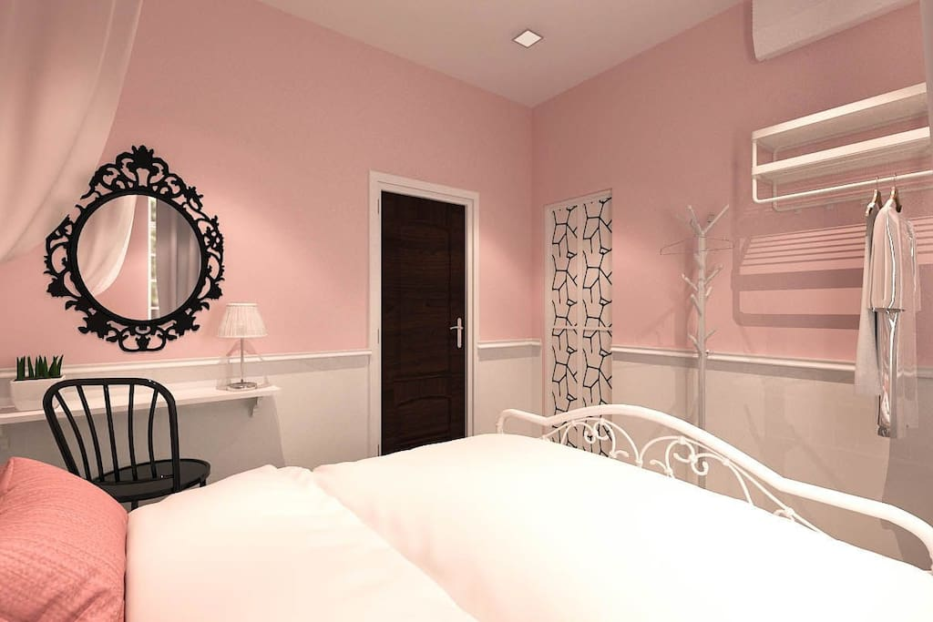 Modern Classic Design Concept Twin Bedroom (View 2)