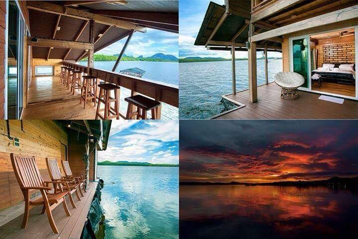 Floating Homestay at Samchongtai