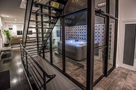 INDOOR HOT TUB- MASSIVE LUXURY HOME- GATED PARKING