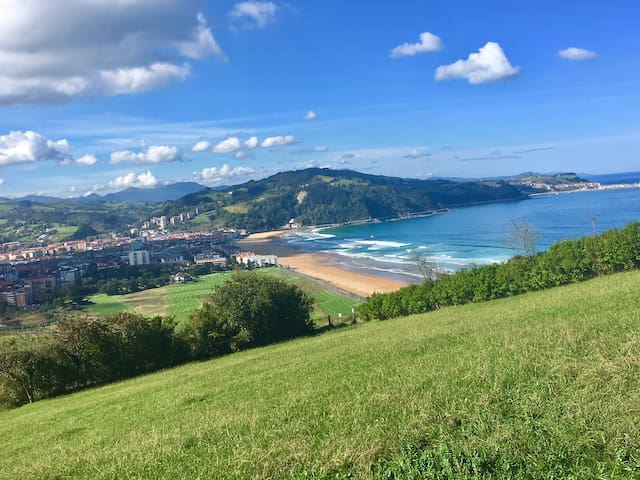 FANTASTIC 1BD APARTMENT WITH SEA VIEWS ZARAUTZ