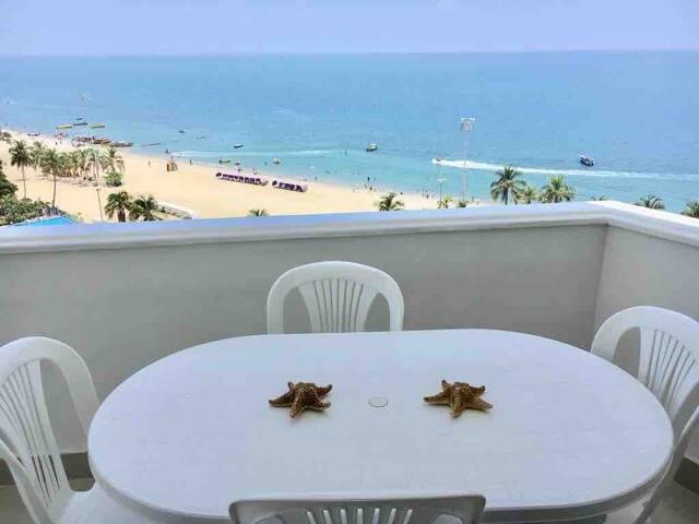 Rento apartamento con hermosa vista al mar