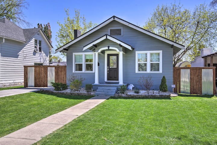 NEW! Cute Home in Downtown Nampa w/Patio + Yard!