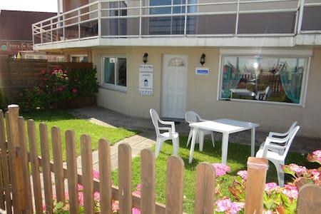 Appartement en front de mer Quiberville - Apartamento