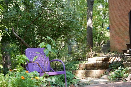 Quiet Guest Suite 'Felsengarten' near Frederick