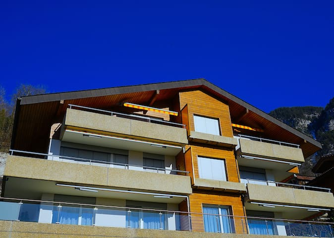 SwissHut Authentic Chalets❤️Superb View Alps&Lake
