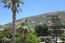 View from the front of the hotel.  To see videos of the rooms, please try you tube hotel parko channel.