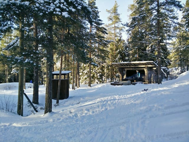 Peaceful getaway in Finnish nature, near airport - Vantaa, FI - Daire