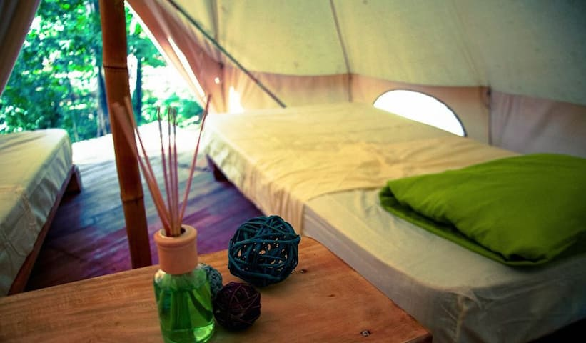 Glamping Tent for 2 (1DBL o 2single)