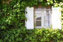 La finestra della Camera padronale
