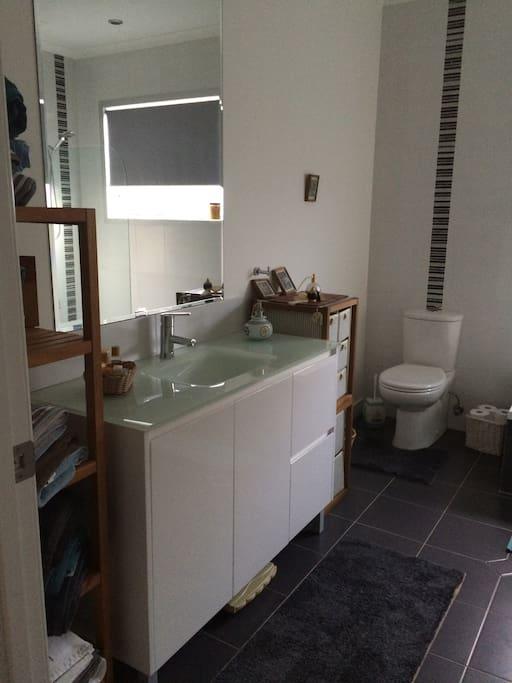 A big bathroom