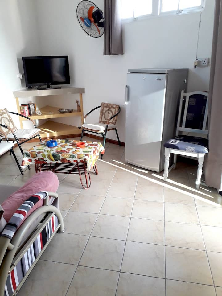 Apartment with one bedroom in Grand Baie, with wonderful city view and WiFi - 300 m from the beach