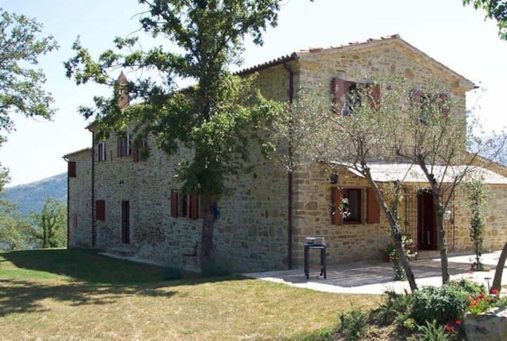 Casa Collina -  Private villa in the Umbrian hills