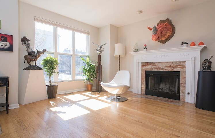 Spacious house in West Town - Chicago - Maison