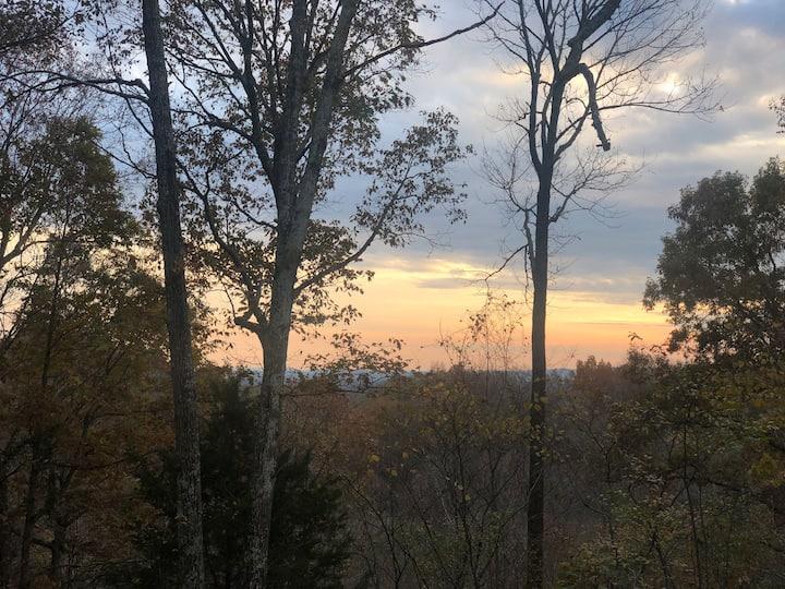 Nashville Wooded Hilltop Primitive Camping Hickory