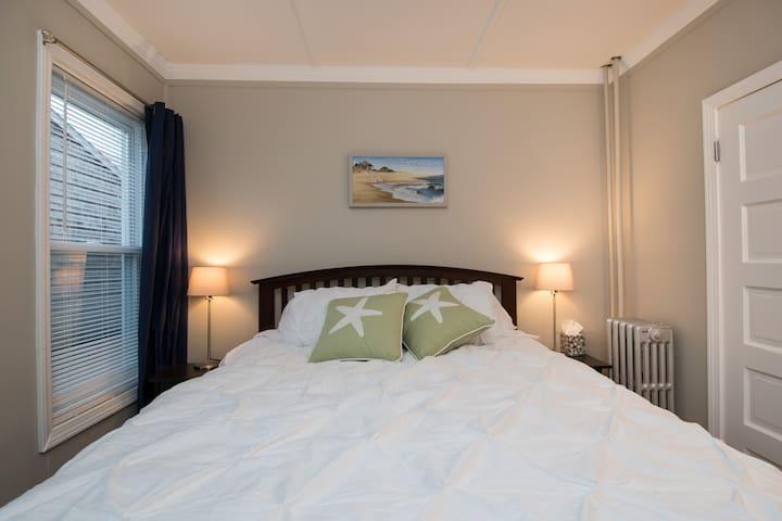 Bedroom 1 - comfy queen bed