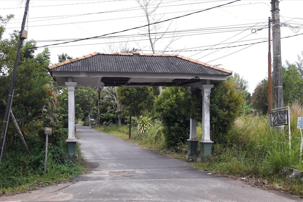 Pintu Masuk Perumnas PEPABRI (PEPABRI Residance Entering Gate)