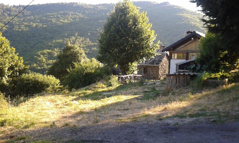 maison  rustique entourée de nature - Saint-Martin-de-Boubaux