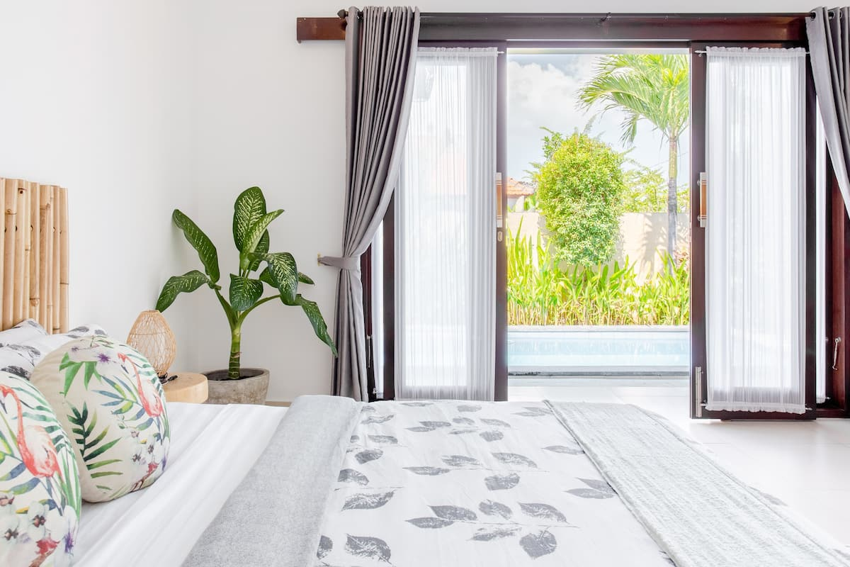 Kick Back on the Pagoda Day Bed at a Tranquil Tropical Haven
