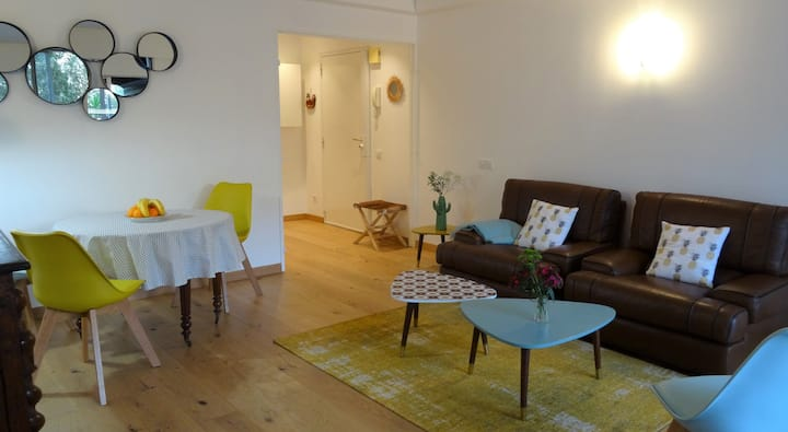 Side beaches: apartment T2 (terrace and garage)