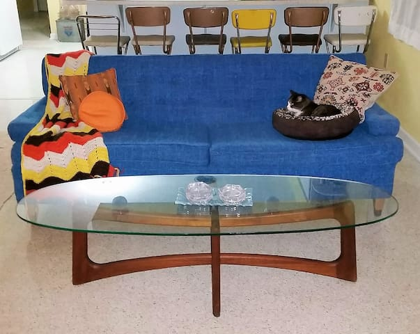 Mid Century Bright & Cheery Gnomad Beach Pad