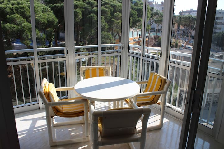 Apartment near the beach Llevant for 5 persons