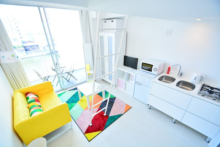 JR NAMBA station 10min walk !!! - 大阪市 - Apartamento