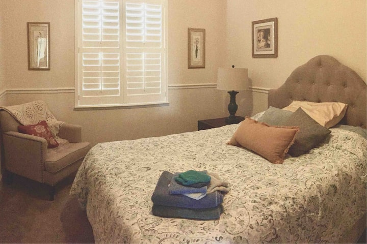 Private Queen Sized Bedroom