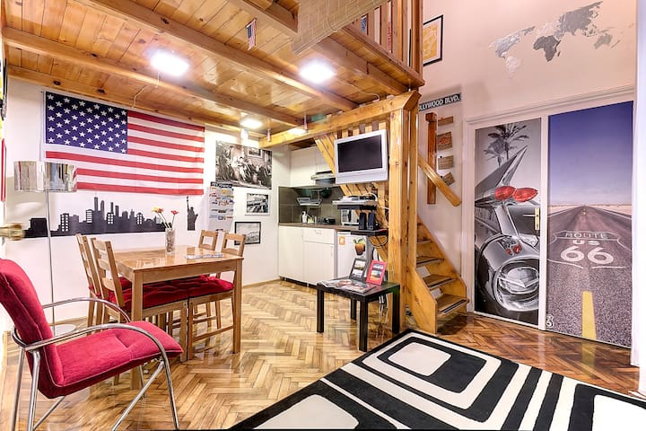 Little Los Angeles - Budapest - Apartamento