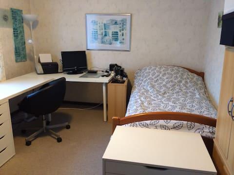 Einzelzimmer in Villa Erholung
