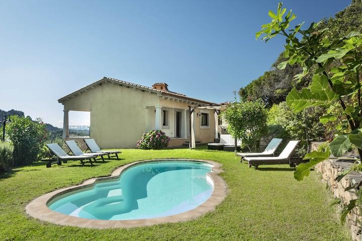 Porto Cervo Villa La Gjanda sunny with pool,