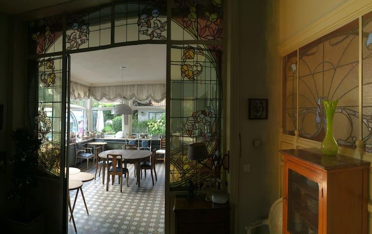 Papillon doré est le thème de la chambre double - Mouscron - Gästehaus