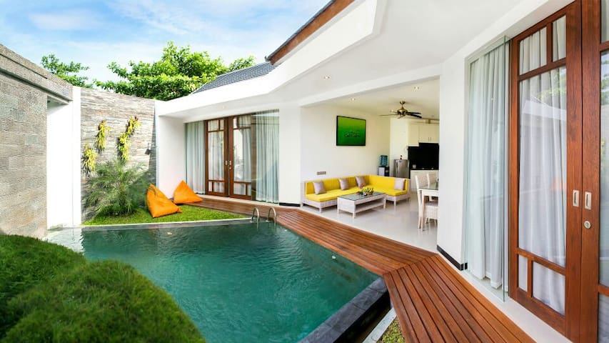 Cosy 2 br with pool Pererenan beach - Mengwi - Villa