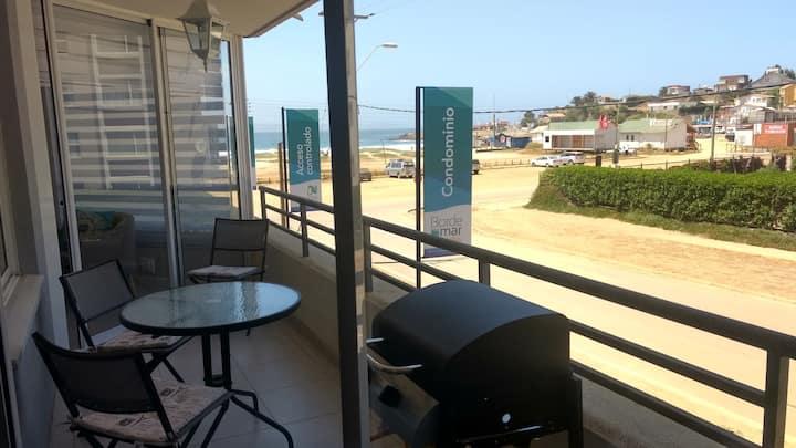 Hermoso departamento nuevo con vista al mar