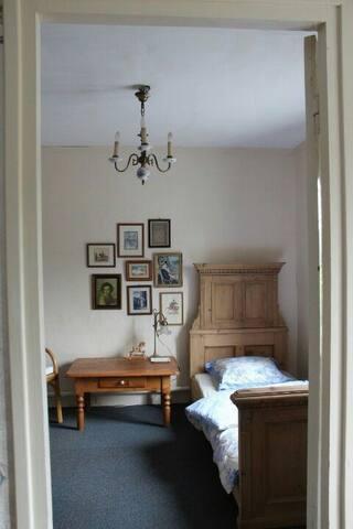 """Een warm en gastvrij huis,""""home away from home""""."""