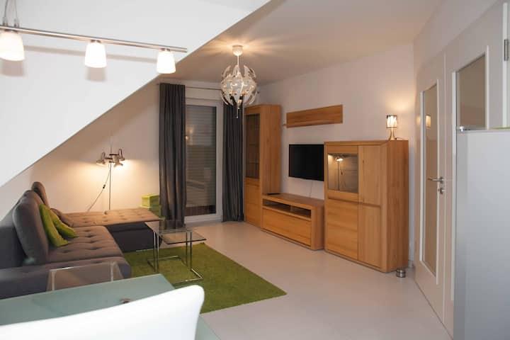 Modernes 2ZKB Apartment, komplett ausgestattet