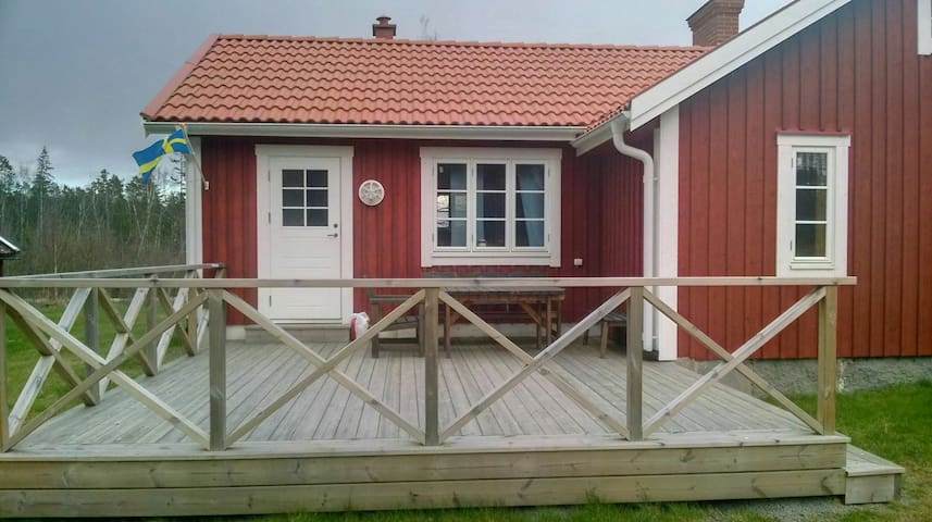 2 room rent in the cute house - Ryd - Dům