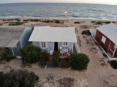 Praia de Faro, Faro Beach, on the dunes house