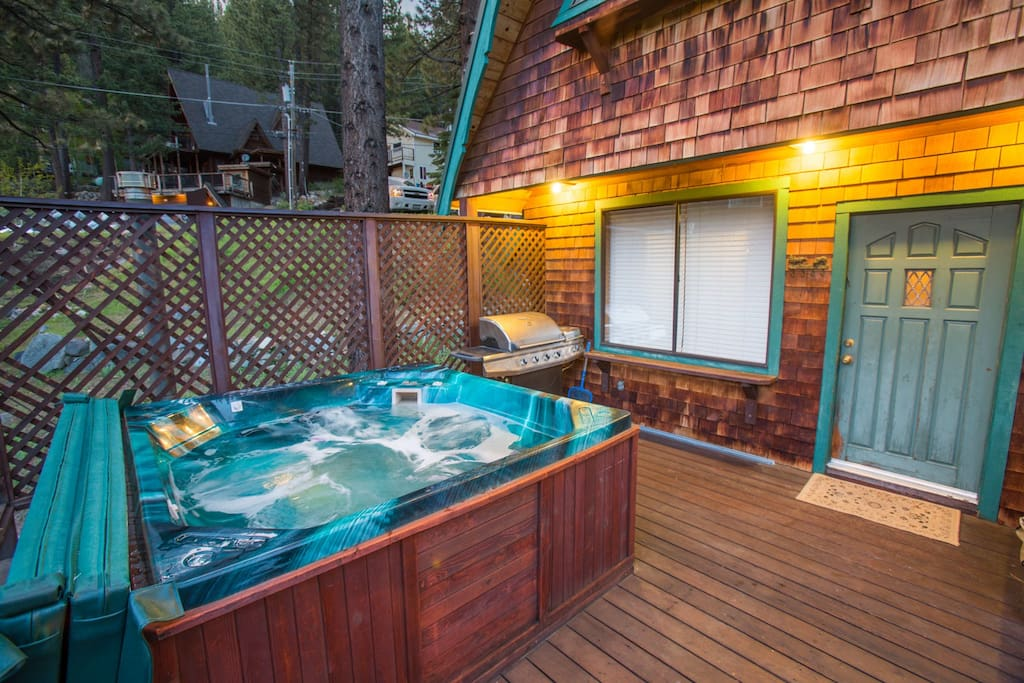 Hot Tub and Barbecue