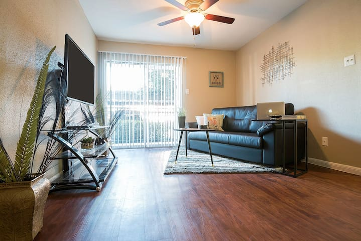 Beautiful&Quiet 1bd/1bth in Med Ctr - Houston - Apartment