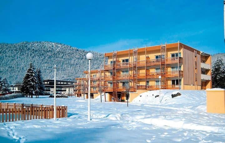 Appartement Parfait pour Couple | Fitness, Ski + WiFi