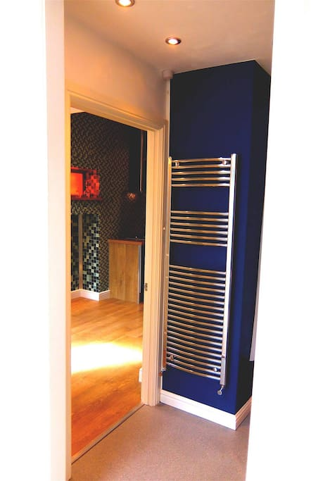 Private guest shower room