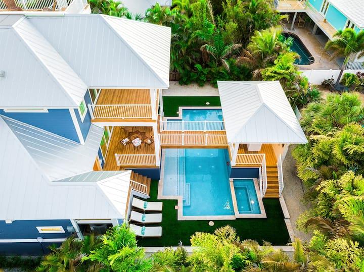 Bevin's Beach House - Four Bedroom House, Sleeps 8