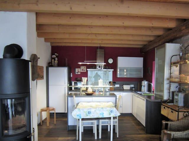 Wohnung auf einem alten Bauernhof - Neuheilenbach Eifel - Departamento
